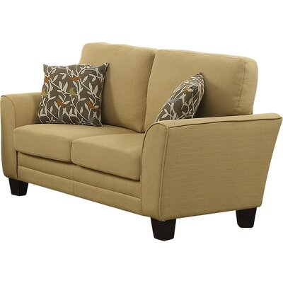 St Philips Loveseat Upholstery: Yellow