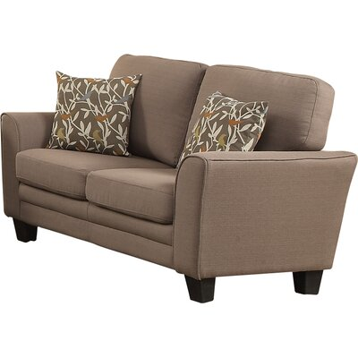 St Philips Loveseat Upholstery: Gray
