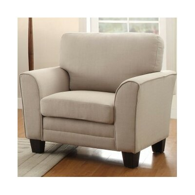 St Philips Armchair Color: Beige