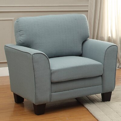 St Philips Arm Chair Color: Teal