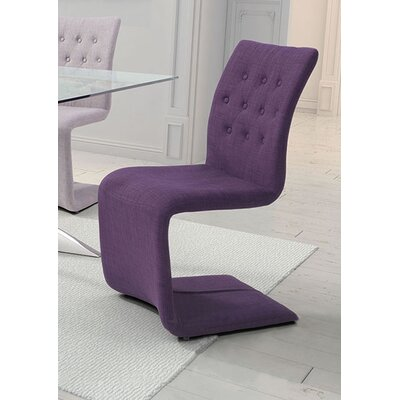 Cheryl Parsons Chair Upholstery: Purple
