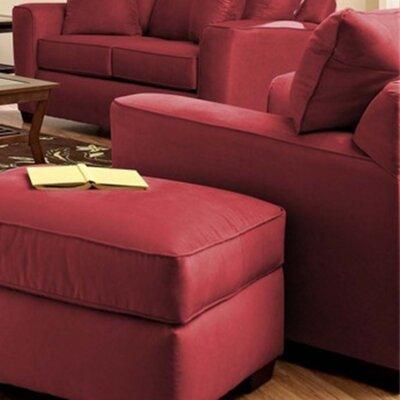Anderson Mill Armchair Upholstery: Microsuede Cinnabar