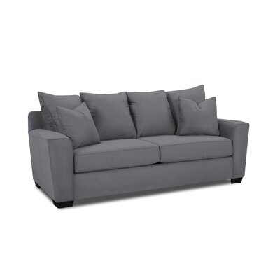 Anderson Mill Sofa Upholstery: Charcoal