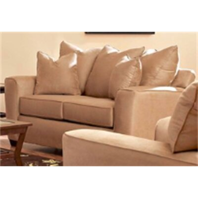 Anderson Mill Loveseat Upholstery: Khaki
