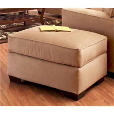 Anderson Mill Ottoman Upholstery: Khaki