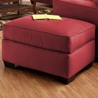 Anderson Mill Cocktail Ottoman Upholstery: Microsuede Cinnabar