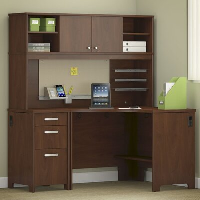Envoy 3 Piece L-Shape Desk Office Suite