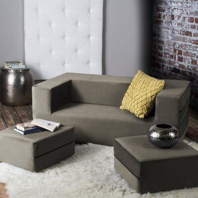 Eugene Sleeper Loveseat Finish: Mocha