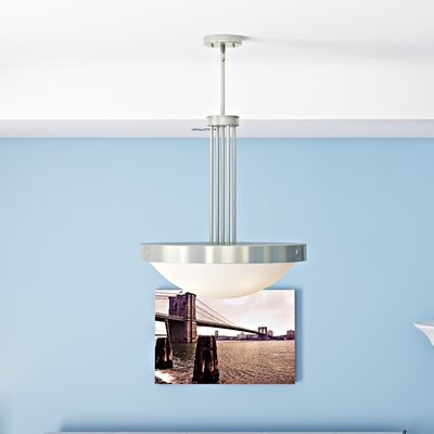 Ann 4-Light Inverted Pendant Finish: Brushed Nickel