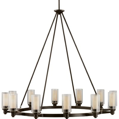 Styx 12-Light Shaded Chandelier