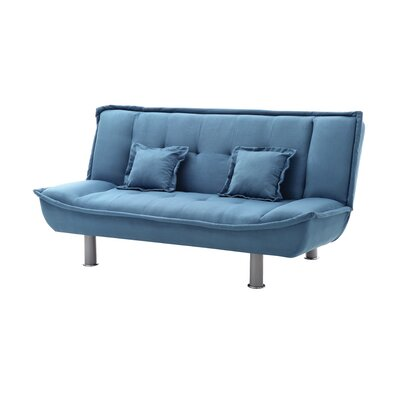 Hertford Convertible Sofa Upholstery: Lite Blue