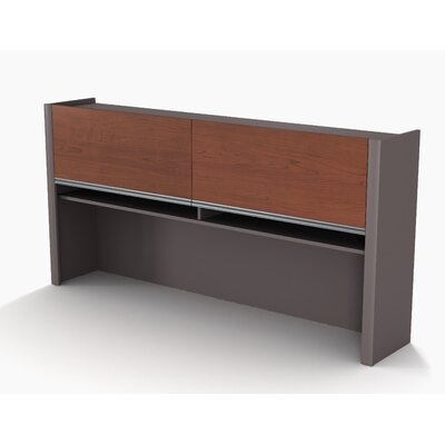 Karla 35.5 H x 70.6 W Desk Hutch Desk Hutch Finish: Bordeaux