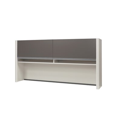 Karla 35.5 H x 70.6 W Desk Hutch Finish: Sandstone