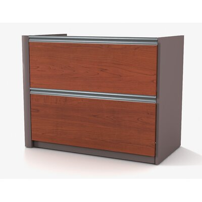 Karla 29.4 H x 33.9 W Desk File Pedestal Finish: Bordeaux
