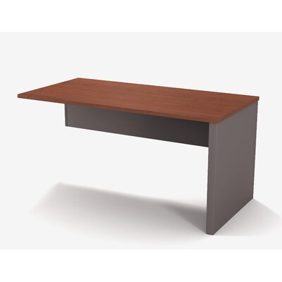 Karla 30.4 H x 59.5 W Right Desk Return Finish: Bordeaux