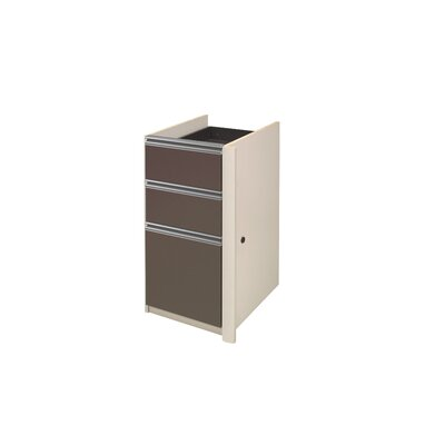 Karla 29.4 H x 15.4 W Desk File Pedestal Finish: Sandstone