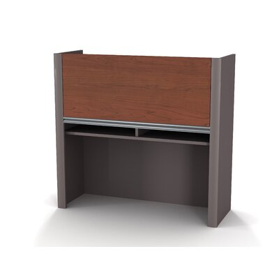 Karla 35.5 H Desk Hutch Size: 36, Finish: Bordeaux and Slate