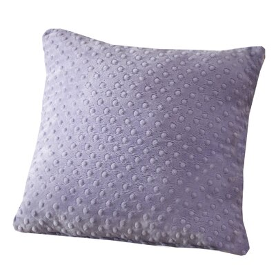 Lubuklinggau Dimple Dot Throw Pillow Color: Lavender