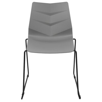Australe Side Chair Finish: Black/Gray
