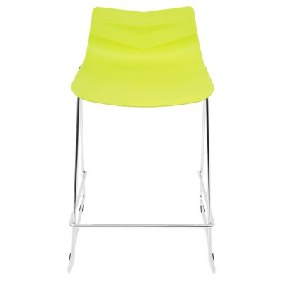 Crestwood 25 Bar Stool Finish: Lime Green