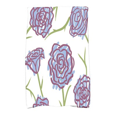 Cotton Hand Towel Color: Blue