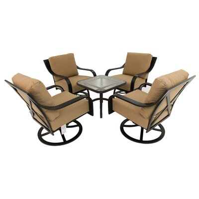 Hamilton 5 Piece Rocker Seating Group with Cushion