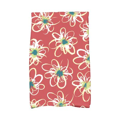 Floral Hand Towel Color: Purple