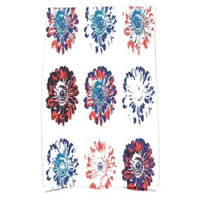 Hand Towel Color: Orange/Blue