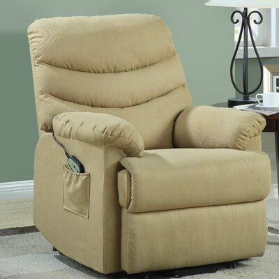 Twining Power Lift Assist Recliner Upholstery: Beige