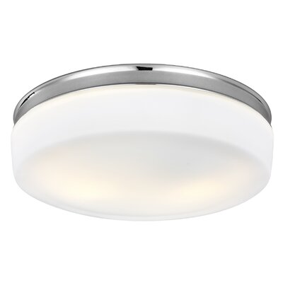 Riverton 2-Light Flush Mount Finish: Chrome
