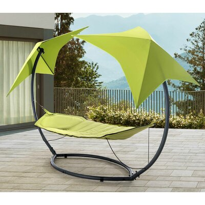 Jedicke Skylight Polyester Hammock with Stand