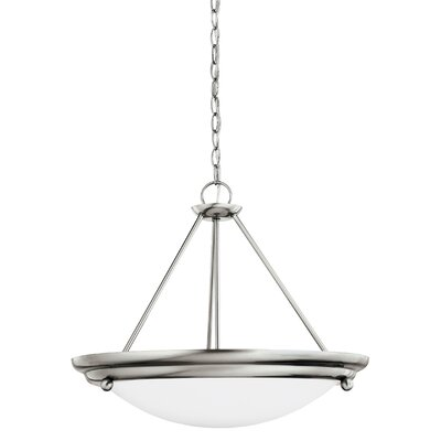 Greenbank 3-Light Bowl Pendant