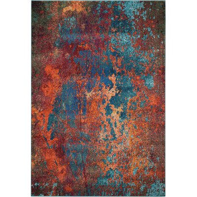 Wexford Atlantic Area Rug Rug Size: Rectangle 53 x 73
