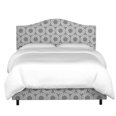 Hardy Upholstered Panel Bed Size: California King