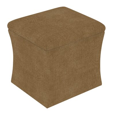 Fienley Storage Ottoman Upholstery: Linen Taupe
