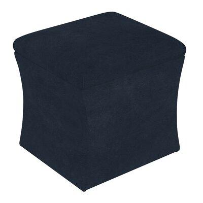Fienley Storage Ottoman Upholstery: Navy