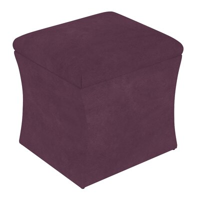 Fienley Storage Ottoman Upholstery: Purple