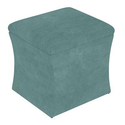 Fienley Storage Ottoman Upholstery: Tidepool
