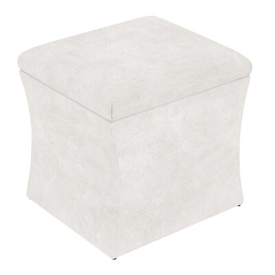 Fienley Storage Ottoman Upholstery: White