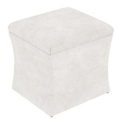 Fienley Storage Ottoman Upholstery: White
