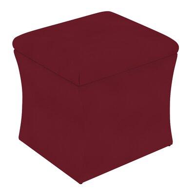 Fienley Storage Ottoman Upholstery: Velvet Berry