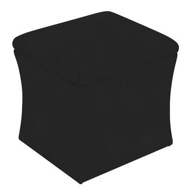 Fienley Storage Ottoman Upholstery: Velvet Black