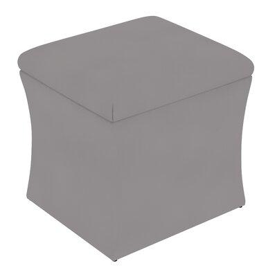 Fienley Storage Ottoman Upholstery: Velvet Steel Grey