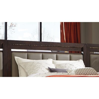 Miranda Upholstered Panel Headboard Size: California King
