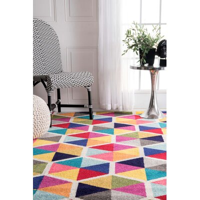 Maureen Pink/Blue Area Rug