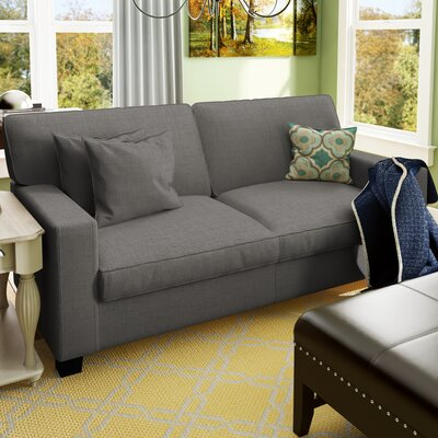 Georgetown 73 Track Arm Loveseat Upholstery: Gray