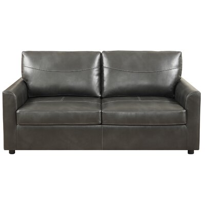 Zander Sleeper Sofa Upholstery: Black