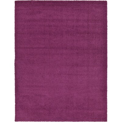 Maxine Violet Area Rug Rug Size: Round 13