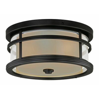 Swarna 2-Light Flush Mount