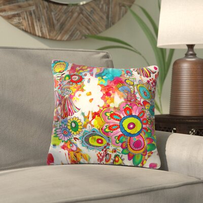 Kilmersdon Outdoor Throw Pillow Size: Medium